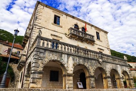Municipal Museum of Perast. Montenegro