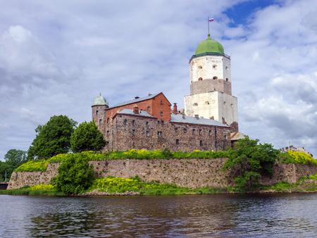 vyborg: castle in Vyborg, Russia Editorial