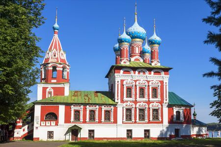 uglich russia: Church of St.. Dmitry on the Blood in Uglich, Russia Stock Photo