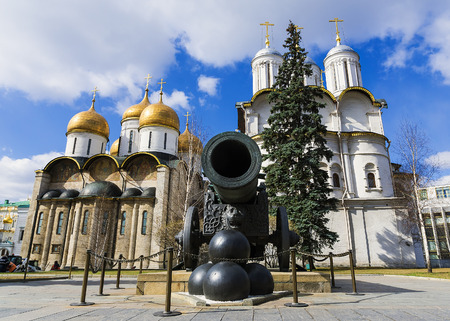 Tsar Cannon in the Moscow Kremlin, Russia Editorial
