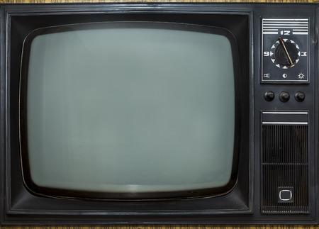 Old vintage TV Archivio Fotografico