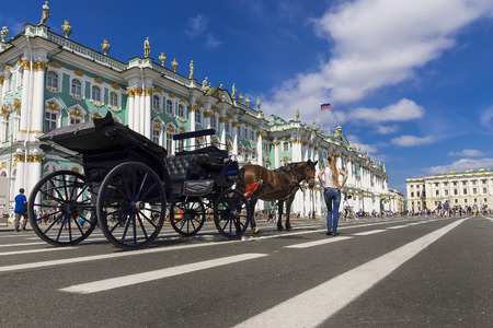 hermitage: Hermitage on Palace Square, St. Petersburg, Russia