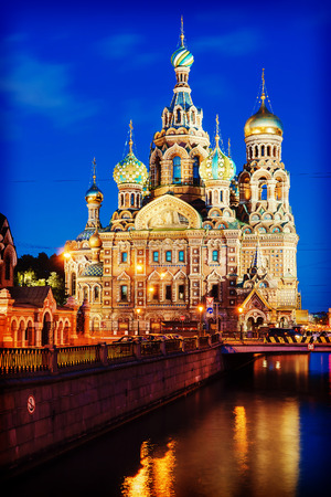 saviour: Our Saviour on Spilled Blood in St. Petersburg Stock Photo