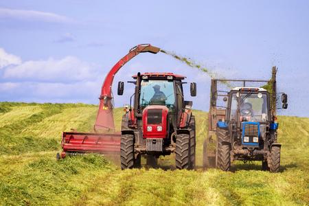 matériel agricole pour la récolte du foin