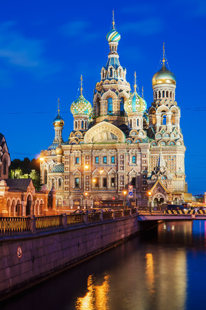 st  petersburg: Our Saviour on Spilled Blood, St. Petersburg in winter