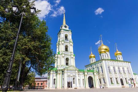 arrepentimiento: Asunción Catedral Tula Kremlin Foto de archivo