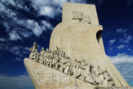 pioneers: Pioneers Monument in Lisbon, Portugal