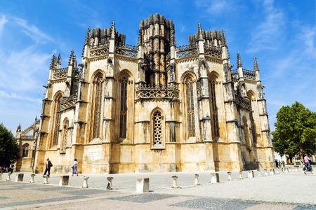 vitoria: Monastery of Santa Maria da Vitoria in Batalha, Portugal Stock Photo