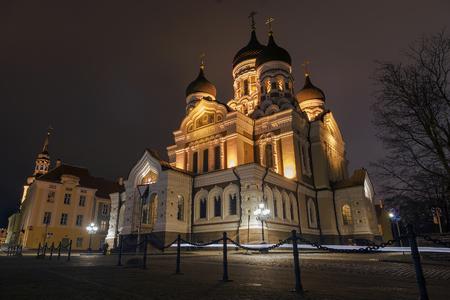 alexander: Alexander Nevsky Cathedral in Tallinn, Estonia