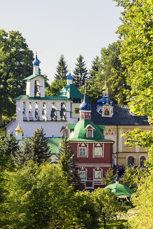 monasteries: Holy Dormition Pskov-Caves Monastery - one of the largest and most famous monasteries in Russia with a long history
