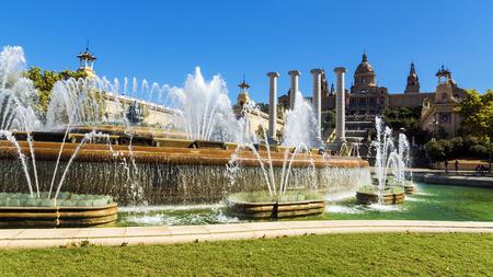 espanya: Barcelonas Plaza Espanya