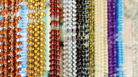 colorful beads: background of colorful beads