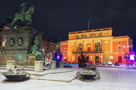 Royal Opera in Stockholm, Sweden