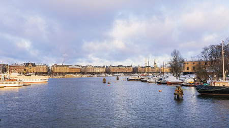 sweden: Stockholm, Sweden Stock Photo