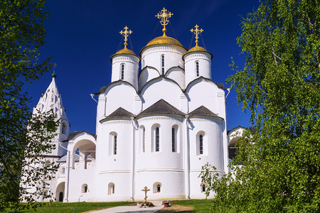 holy Pokrovsky monastery in Suzdal, Golden Ring of Russia