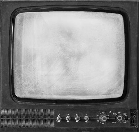 retro tv: an old retro TV