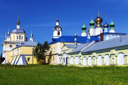 dome of the rock:  Nicholas Shartomsky Monastery.Vvedenye.Russia
