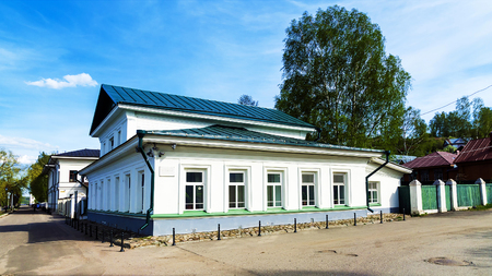 provincial tourist area: House Museum Isaac Levitan - a museum dedicated to the artist Isaac Ilich Levitan. Located in the city of Ples