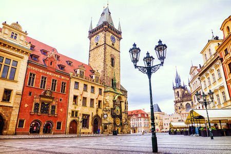 Town Square in Prague, Czech Republic