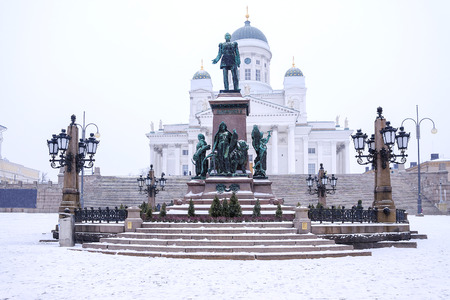 winter finland: Winter Helsinki, Finland