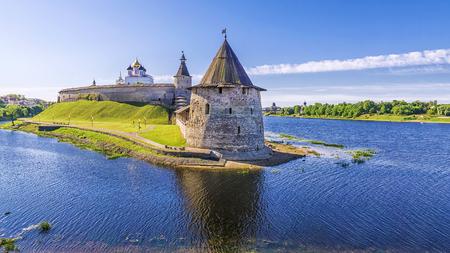 Kremlin à Pskov, Russie Banque d'images - 69315890
