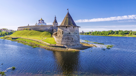 Kremlin in Pskov, Rusland