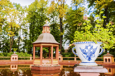Summer garden - park complex, a monument of landscape art of the first third of the XVIII century in the center of St. Petersburg