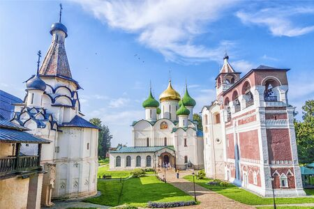 monastic sites: Cathedral of Transfiguration of the Saviour, Monastery of Saint Euthymius, Suzdal, Russia
