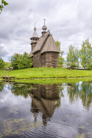 kostroma: museum of wooden architecture in Kostroma, Russia