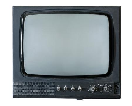 retro tv: Retro TV on a white background