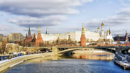 Moskou, Rusland Stockfoto