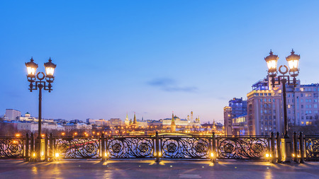 View of Moscow Kremlin from the Patriarchal bridge