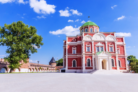 Museum of weapons on the territory of the Tula Kremlin, Russia Stock Photo