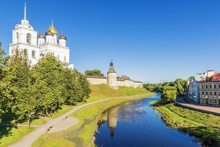 sacred trinity: Pskov, Russia