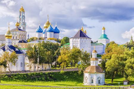 Sergiev Posad, Rusland Stockfoto