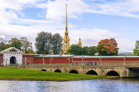 Peter and Paul Fortress in St. Petersburg