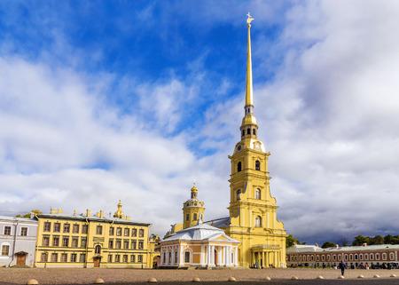Peter en Paul-vesting in St. Petersburg