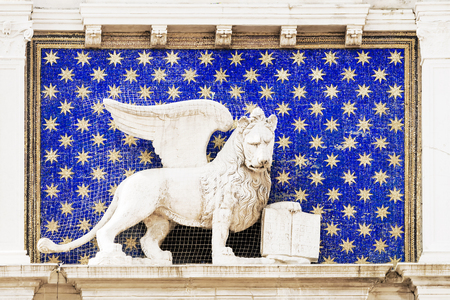 The Winged Lion Of St Mark Is The Symbol Of The City Of Venice