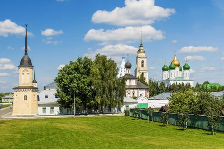 oka: Old Russian city Kolomna, Russia