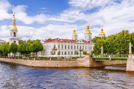 St. Nicholas Cathedral  in St .Petersburg
