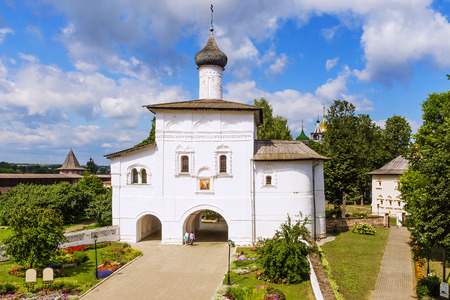 The Annunciation Gate Church in Suzdal, the Golden Ring of Russia