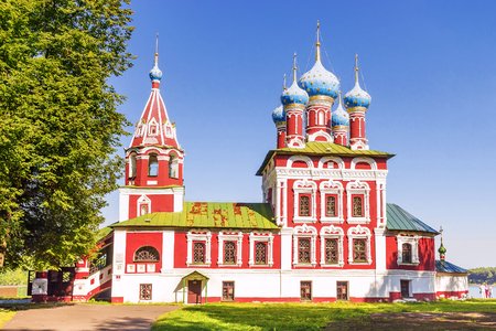 Church of Dimitri on Blood in Uglich, Russia