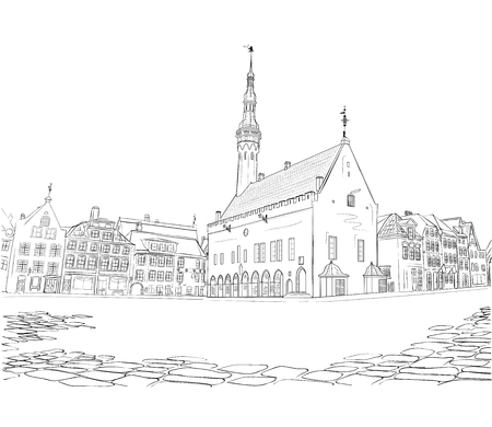 Town Hall Square in Tallinn