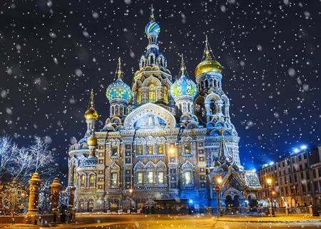 Church of the Savior on Blood In St. Petersburg, Russia 免版税图像