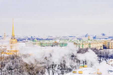 winter view of St. Petersburg, Russia