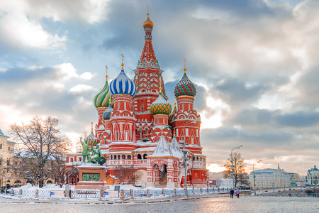 St. Basils Cathedral. Moscow, Russia