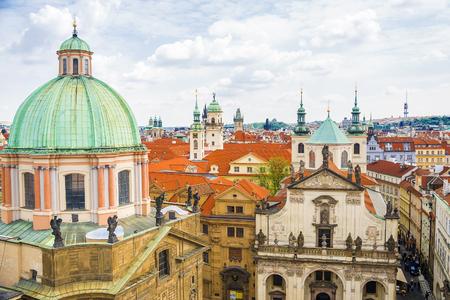 Panorama of Prague. Czech Republic Stock Photo