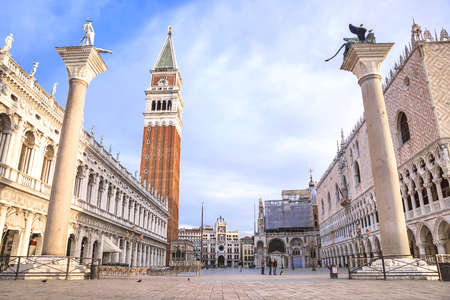 Venice, Italy. San Marco Square in Venice 스톡 콘텐츠