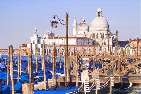 The Cathedral of Santa Maria della Salute in Venice