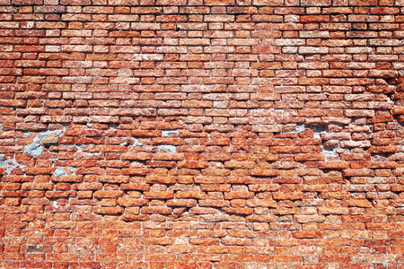red brick background. red brick old brick wall 스톡 콘텐츠